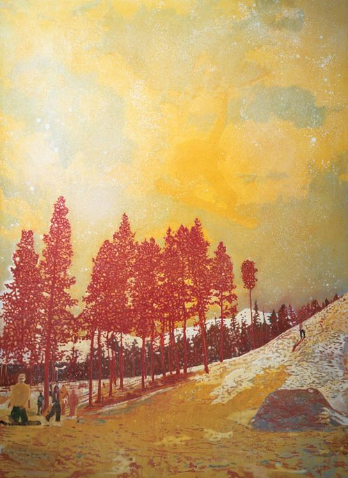 Orange_sunshine_by_peter_doig